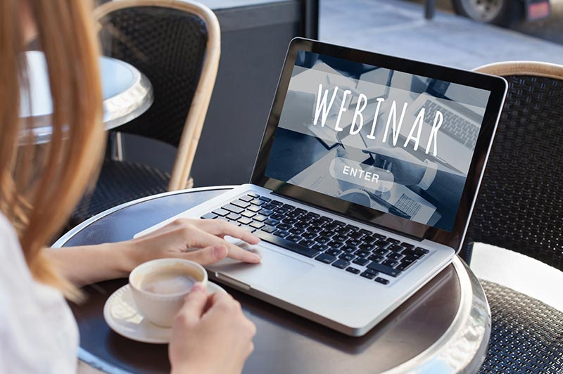 Marketing Content Production Webinars